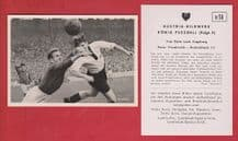 France v West Germany 1952 Ruminski Le Harve Lille Rahn Rot Weiss Essen D14