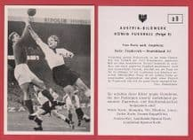 France v West Germany 1952 Ruminski Le Harve Lille Stollenwerk SG Duren 99 D9