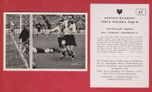 France v West Germany 1952 Turek Fortuna Dusseldorf Retter Stuttgart D7