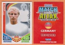 Germany Berti Vogts Borussia Monchengladbach International Legend