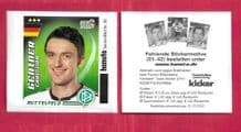 Germany Christian Gentner Wolfsburg 30 (K10)