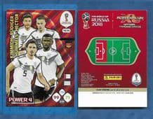 Germany Kimmich Rudiger Hummels Hector 2018 404 Power 4