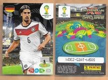 Germany Sami Kehedira Real Madrid 110 2014