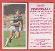 Glasgow Celtic Paul McStay 35