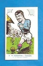 Glasgow  Rangers Willie Henderson 8 (AJB)