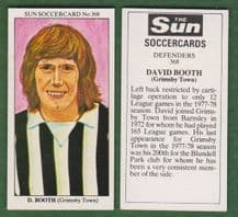 Grimsby Town David Booth