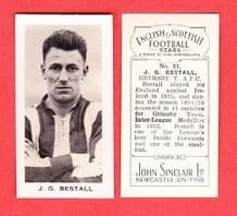 Grimsby Town Jackie Bestall England