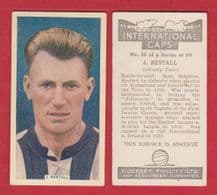 Grimsby Town Jackie Bestall England 35 (IC)