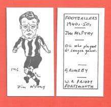 Grimsby Town Jim McStay 596