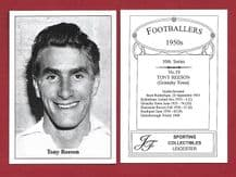 Grimsby Town Tony Reeson 19 (10) ***