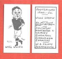 Grimsby Town Willie Wardle 937