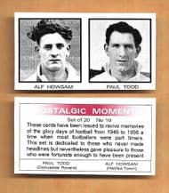 Halifax Town Alf Howsam & Doncaster Rovers Paul Todd 10