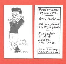Halifax Town Andy McCall 555