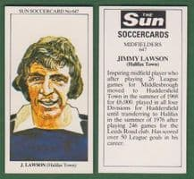 Halifax Town Jimmy Lawson