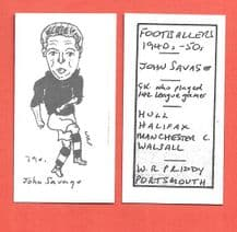 Halifax Town John Savage 790