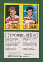Hamilton Academicals Alex Hamill & William Jamieson 514
