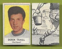 Hartlepool United Derek Traill 1969