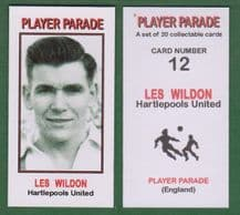 Hartlepool United Les Wilson 12 (PPS1)