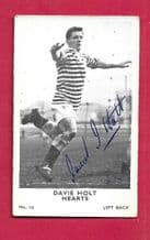 Heart of Midlothian Davie Holt 10