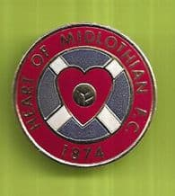 Hearts of Midlothian Badge (EB)