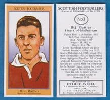 Hearts of Midlothian Barney Battles Scotland 3