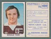 Hearts of Midlothian Donald Park 489