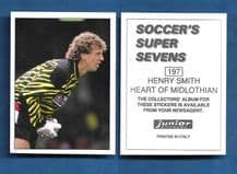 Hearts of Midlothian Henry Smith 197
