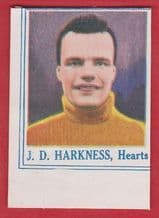 Hearts of Midlothian Jack Harkness Scotland