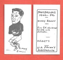 Hearts of Midlothian Jimmy Brown 121