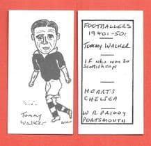 Hearts of Midlothian Tommy Walker 925