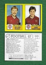 Hearts of Midlothian William MacKay & John Robertson 528 AB