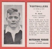Hearts of Midlothian Willie Bauld Scotland 4 (mm)