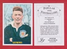 Hearts of Midlothian Willie Bauld Scotland 9