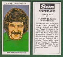 Hereford United Tommy Hughes