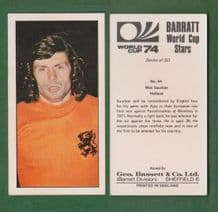 Holland Wim Suurbier Ajax 44
