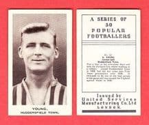 Huddersfield Town Alf Young England