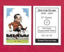 Huddersfield Town Ted Taylor England 17 (FC)