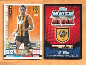 Hull City Ahmed Elmohamady 120 (AS)
