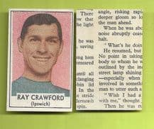 Ipswich Town Ray Crawford England 1969