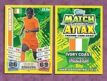 Ivory Coast Gervinho Arsenal 160 (14AS)