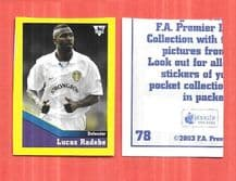 Leeds United Lucas Radebe South Africa 78 UBL