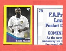 Leeds United Lucas Radebe South Africa 78 UTL