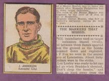 Leicester City Johnny Anderson 1954