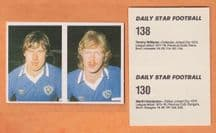 Leicester City Martin Henderson Tommy Williams
