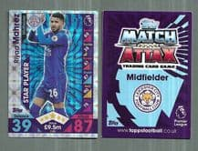 Leicester City Riyad Mahrez Star Player 139 (JK)