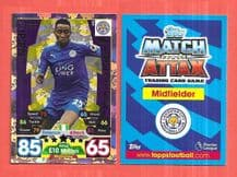 Leicester City Wilfred Ndidi Man of the Match 402 (JK)
