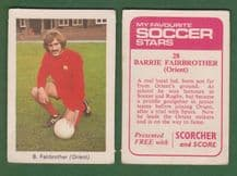 Leyton Orient Barrie Fairclough 28