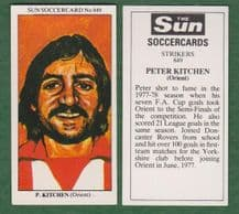 Leyton Orient Peter Kitchen