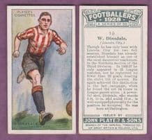 Lincoln City Billy Dinsdale