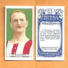 Lincoln City Billy Simpson 37 (CP)